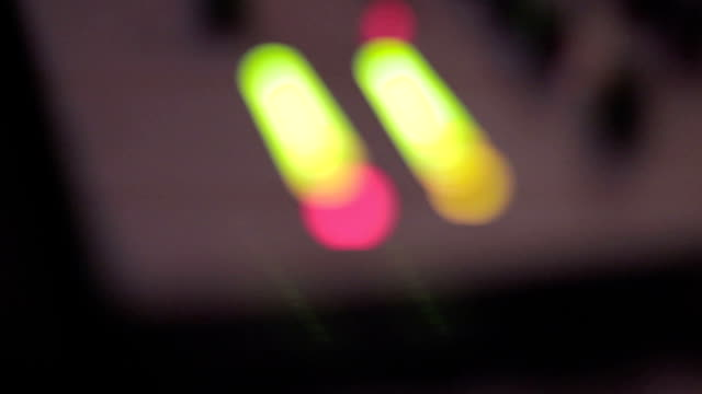 Beaming colorful spots, nightclub background, abstraction video