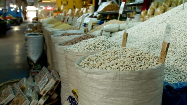 Beans In Street Market video