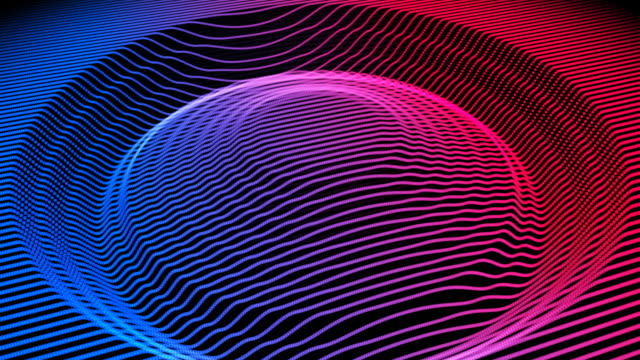 beat-sound visualizer wellenform - sound wave stock-videos und b-roll-filmmaterial