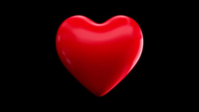 vídeos de stock e filmes b-roll de batimento coração - imagem pulsante