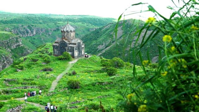 Beautiful ancient armenian monastery Amberd video