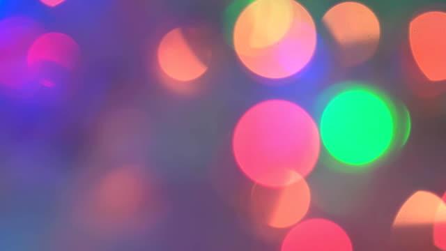 beautiful background flashing light. video