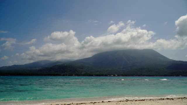 Beautiful beach on tropical island.Camiguin, Philippines video