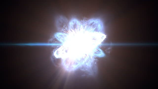 beautiful big bang universe creation. huge first explosion and creation of stars and galaxies in space. hd 1080. - big bang video stock e b–roll