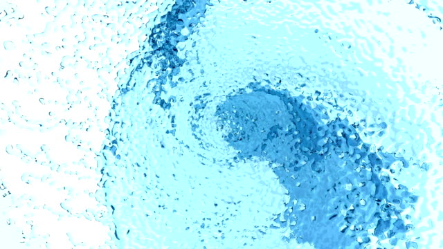 Beautiful Blue Color Water Whirl video