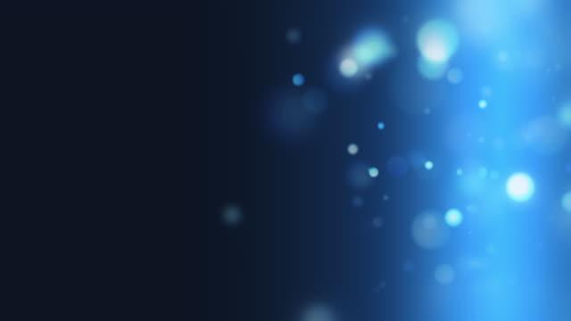 美しいボケ粒子 [ループ] - ふわふわ点の映像素材/bロール