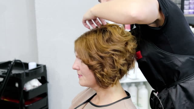 Perm Hair Stock Videos And Royalty Free Footage Istock