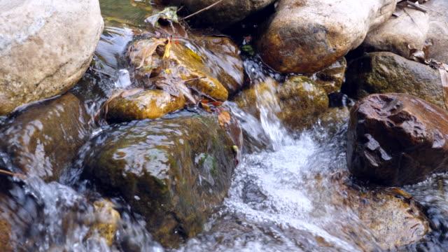 Beautiful Cascaded Waterfall and Stream