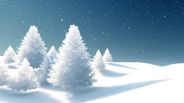 Beautiful Christmas background, snowing Beautiful Christmas background, snowing snowman stock videos & royalty-free footage