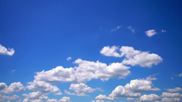 美しい雲並みの背景 - 空点の映像素材/bロール