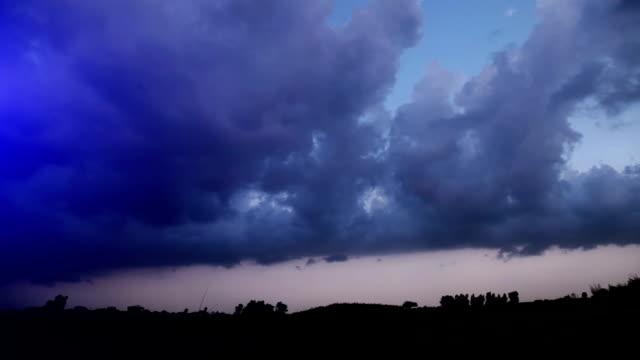 Beautiful cloudscape in the nature video