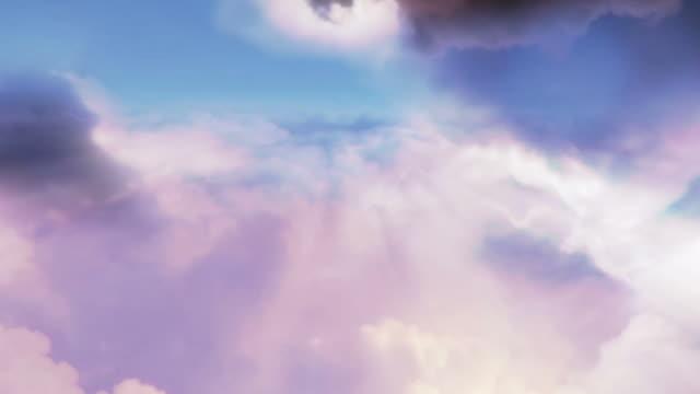 Beautiful Cloudy Sky - Flythrough video