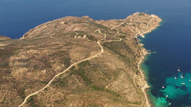 Schöne Küste in Korsika, La Revellata in der Nähe von Calvi – Video