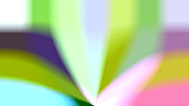 vídeos de stock, filmes e b-roll de padrões de starburst colorido bonito em movimento - colorful background