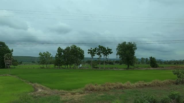 Beautiful Country landscapes in countryside of Thailand.