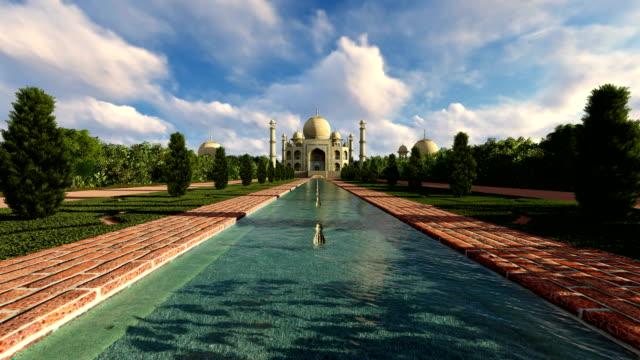 Beautiful day at Taj Mahal India