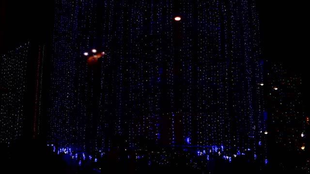 Casa decorativa bonita no festival de Diwali - vídeo