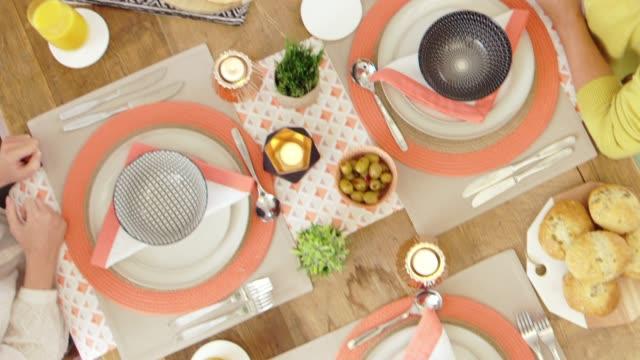 stockvideo's en b-roll-footage met mooi eettafel - breakfast table