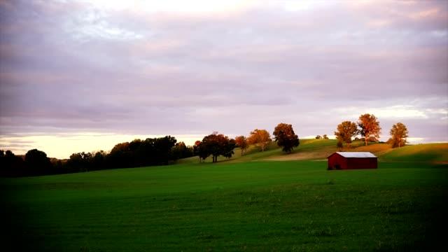 beautiful farm - ahır stok videoları ve detay görüntü çekimi
