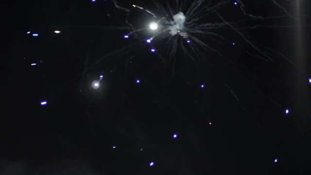 Beautiful fireworks show at the wedding Beautiful fireworks show at the wedding HD happy 4th of july videos stock videos & royalty-free footage