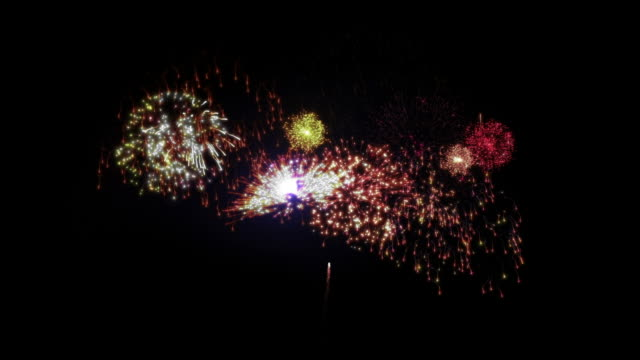 Beautiful Fireworks. video