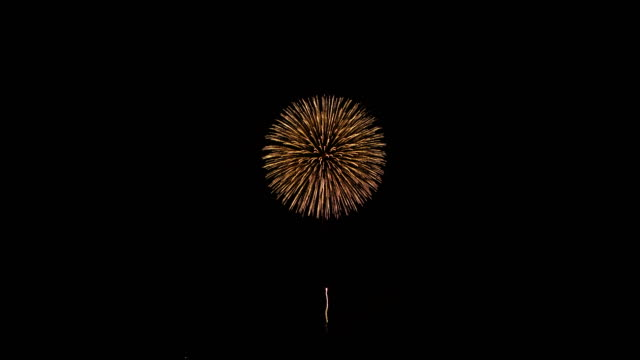 Beautiful fireworks Beautiful fireworks(Night view) firework explosive material stock videos & royalty-free footage