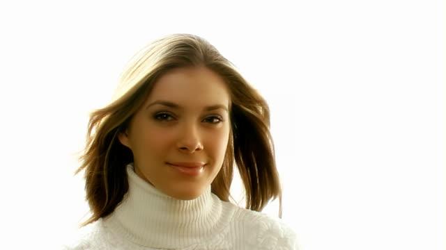 Beautiful Girl in the wind video