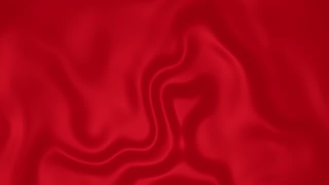 vidéos et rushes de beau gradient liquide ondulations lisse tissu de soie surface coloré fluide résumé - sky