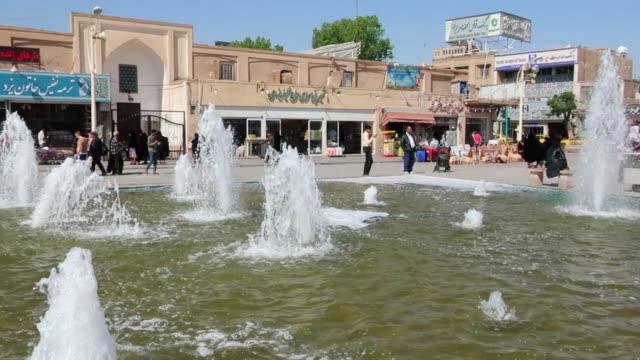 Beautiful Iranian fountain video