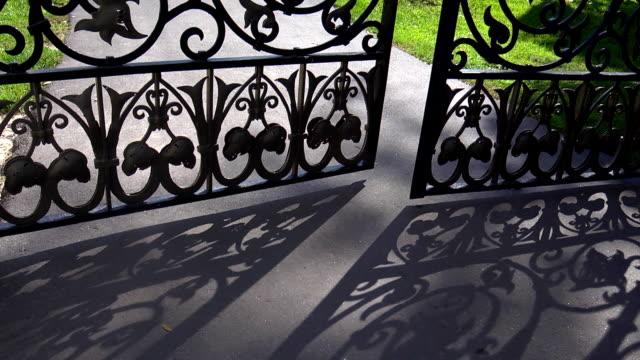Красивые железные ворота  Beautiful iron gates