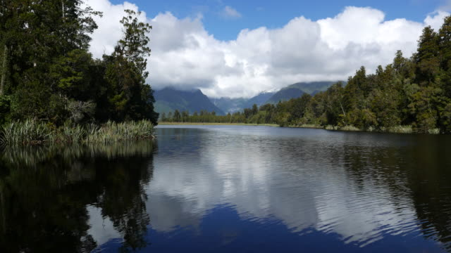 Beautiful Lake in New Zealand video