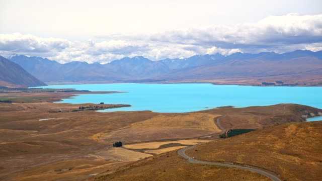 Beautiful Lake Tekapo, NewZealand video