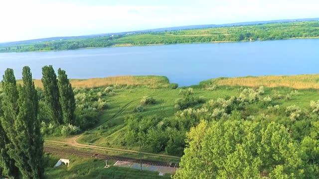 beautiful lake - молдавия стоковые видео и кадры b-roll