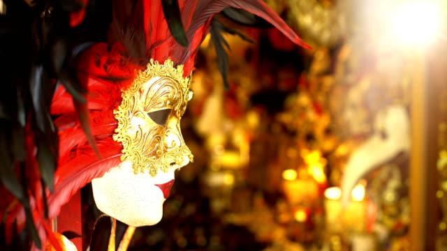 Wunderschöne Maske in Venedig – Video