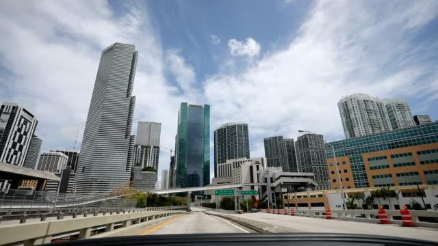 vackra miami - bilperspektiv bildbanksvideor och videomaterial från bakom kulisserna