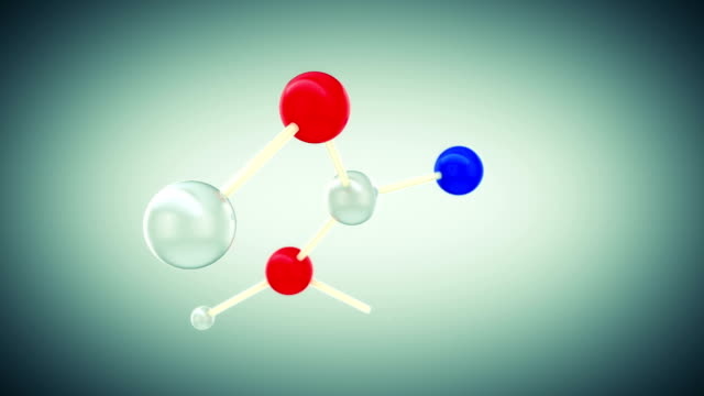 Beautiful Molecule Structure. HD 1080. video