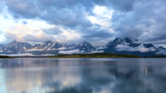 Beautiful morning in the Tetons video