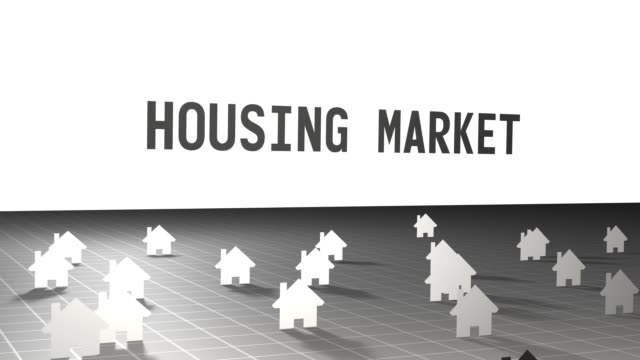 Beautiful Motion Graphics Housing Market Typography over Cinematic House Icon Map Beautiful Motion Graphics Housing Market Typography over Cinematic House Icon Map housing logo stock videos & royalty-free footage
