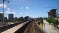 istock Beautiful Outdoor Train Forward FPV. 1176357030