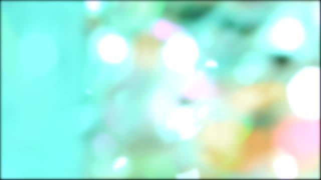 Pastel de bel lumières colorées pour Pâques et fête des mères. - Vidéo
