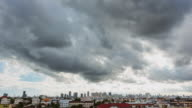 istock Beautiful rainstorm and grey clouds 1216212733