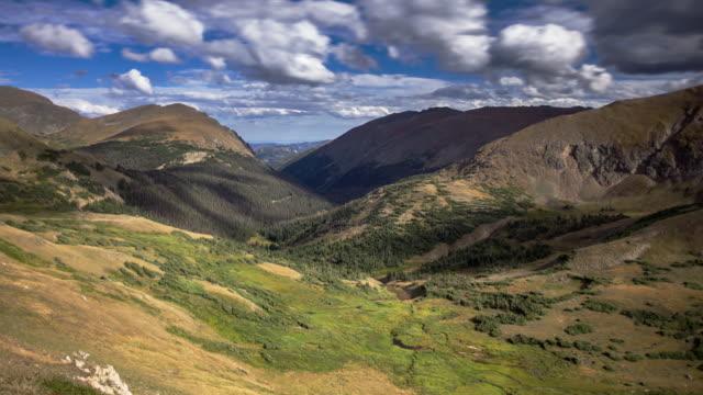 Beautiful Rocky Mountain Scene - Time Lapse video