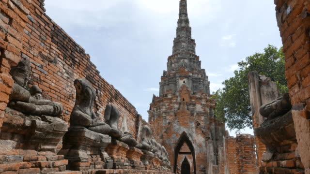 herrlichen ruinen von thailand - kambodschanische kultur stock-videos und b-roll-filmmaterial