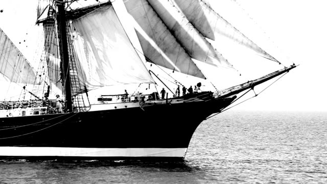 beautiful sailing barque video