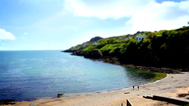 Beautiful Sea, Howth, Dublin Bay, Tile Shift, Time Lapse, Ireland video
