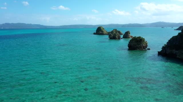 美しい海と地平線 - リゾート点の映像素材/bロール