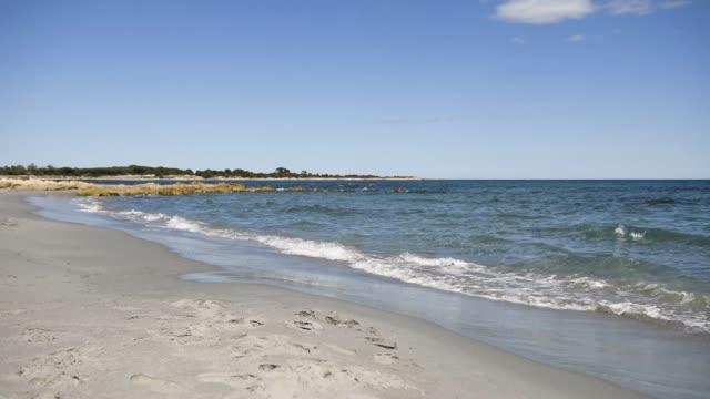beautiful seascape of sardinia. - sardegna video stock e b–roll