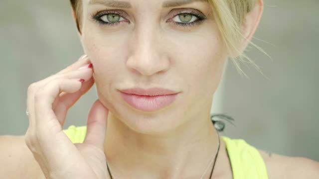 beautiful skin - quarantenne video stock e b–roll