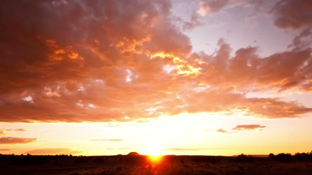Beautiful Sunset time lapse video