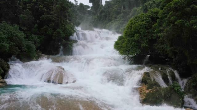 Beautiful tropical waterfall. Philippines, Mindanao